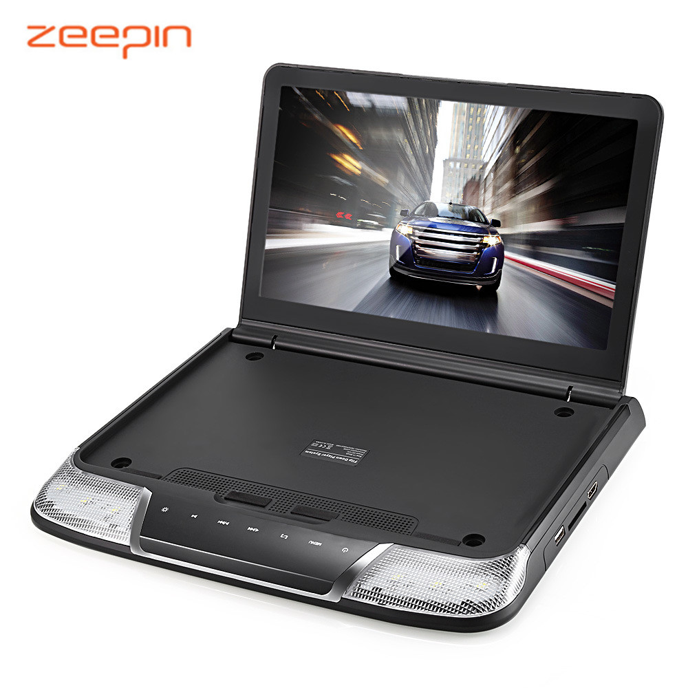 Zeepin OS-1165M Roof Mount Car Multimedia Player 11.6Inch 1080P USB IR FM Transmitter Built-in Double Dome LED Lights Monitors