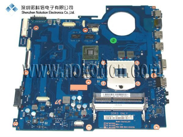 все цены на  BA41-01423A For Samsung RV511 RV411 laptop motherboard BA92-07395A BA92-07395B  GeForce 315M DDR3 Mainboard Full tested  онлайн