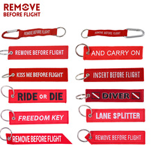 Fashion Car keychain Motorcycle Key Chain chaveiro para carro remove before flight portachiavi auto Fobs OEM ATV ring