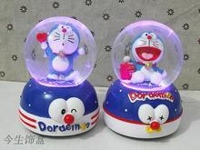 Jingle cat Doraemon light snow crystal ball font b music b font font b box b