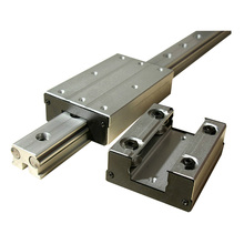 High-speed external dual-axis linear guide slider LGB6-60L4 wheel ~LGB16-190L6 round(Does not include Guide) недорого