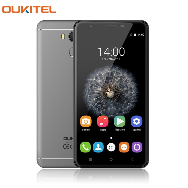 Original Oukitel U15 Pro Smartphone Android 6.0 5.5'' HD MT6753 Octa Core Mobile Phone 3G RAM 32G ROM FingerPrint 4G Cellphone