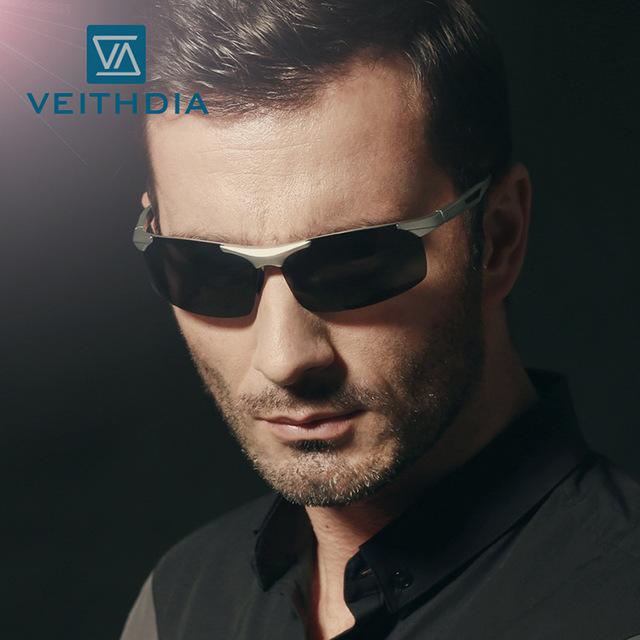 Nova liga de óculos polarizados motorista espelho óculos de sol dos homens de esportes ao ar livre óculos de