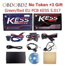 HW V5.017 V7.020 V2.23 + KTAG KESS OBD2 Gerente Sintonía Kit KESS 5.017 Tokens No Utilizar K-TAG En Línea 7.020 Para El Coche/Camión/Tractor
