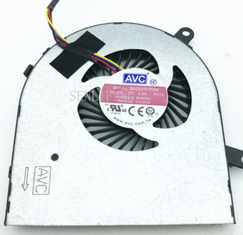 FOR Dell Inspiron 3475 CPU Fan 1TMP6 1TMP6 A00 BAZE0707R5M P013 I3475 I3475-A845BLK-PUS