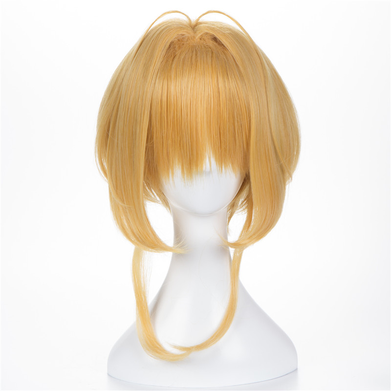 2018 Hot Anime KINOMOTO SAKURA Card Captor Cosplay Wig For Women/Girls Halloween,Party,Stage,Play Cute Hair High quality Brown