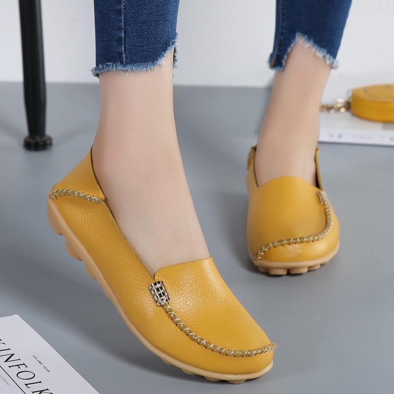 Femmes rouge Pure Chaussures jaune blanc Couleur slip De Nouveau Casual Plates Style Été Mode Noir Non ETFxaOqF