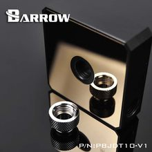 Barrow water cooler Mirror Pump cover Black/White/Gold for DDC Water pump modification accessories heatsink gadget(China)