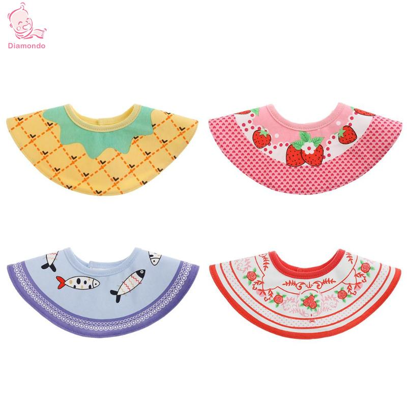 Unisex Baby Bibs Sweet Newborn Baby Bibs Cartoon Character Baby Feeding Burp Cloth Towels High Quality 100% Cotton Burp Cloths