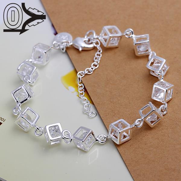 5247384a3ee1 Venta caliente de calidad superior de plata chapada pulsera