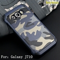 Anti-knock Hybrid 2 in 1 Combo Armor Impact Camouflage Military Pattern Phone cover Case For Samsung Galaxy J7(2016)  J710 J710F