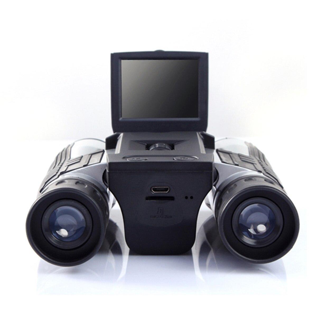 12x32 1920x1080 P Full HD видео Камера телескоп Бинокль с 2 дюйма Экран Открытый Отдых бинокль охота Пеший Туризм