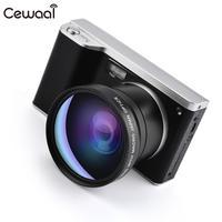 Cewaal CMOS ips сенсорный экран Широкоугольный DSLR Высокочувствительный HD цифровая камера высокая эффективность затвора видеокамеры фокус