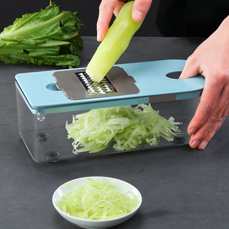 Multi functional Manual Onion Chopper Vegetable Chopper Slicer Dicer Veggie Chopper Cutter Kitchen Tools