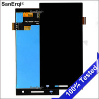 For Philips Xenium S396 LCD Display with Touch Screen Digitizer Glass Assembly Without Frame SanErqi
