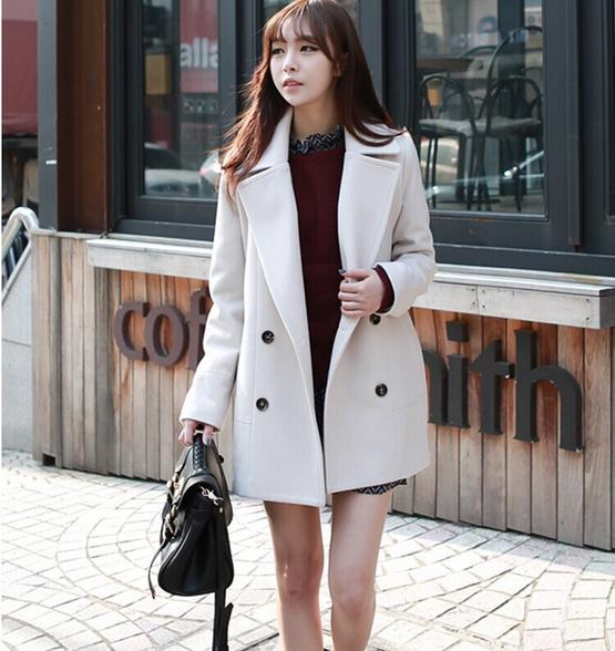 Wool Blends Jacket Coat Europe Autumn Winter Fashion Casual Long Section Wool Coat Big Yards Loose Double Breasted Overcoat Fashion Overcoat Overcoat Fashionfashion Wool Coat Aliexpress