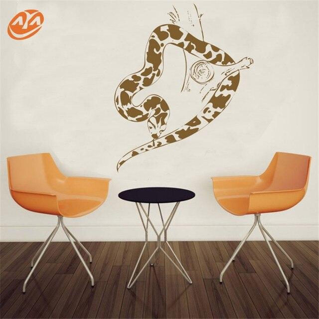 wall art aya diy wall stickers wall decals,snake pvc wall stickers