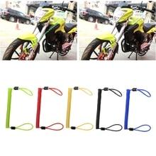 Мотоциклетная сигнализация, дисковый замок, защита от вора, Аксессуары для мотоцикла, колеса, дисковый тормоз, сумка, напоминание, пружинный кабель 150 см