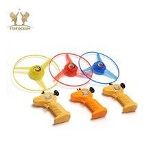 Диски маховик спортивные игрушки Вертолет НЛО спин светодиодный свет ночных полетов развивающее Упражнение милые игрушки