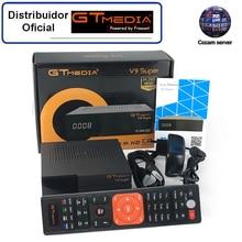 GTMedia V9 Super Satellite Receiver Bult-in WiFi with 1 Year Spain Europe Cccam Full HD DVB-S2/S Freesat Receptor