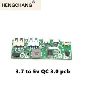 Image 2 - Быстрая зарядка 3,0 запасная часть внешнего аккумулятора PD3.0 литий ионная батарея Pcba печатная плата PCB 5 в 2 а 9 в 2 а 12 в а модуль бустера USB