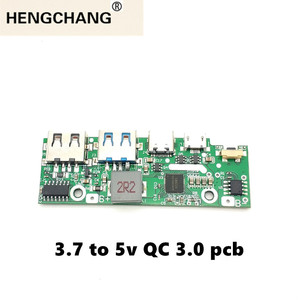 Image 2 - Quick Charge 3.0 Power Bank Part PD3.0 Li Ion Battery Pcba  Supply Circuit Board PCB 5v2a 9v2a 12v1.5a Booster Module USB