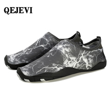 QEJEVI 2018 hot sell spring summer Unisex Water Shoes Beach Outdoor Sports sneakers Breathable Quick-drying Aqua shoe