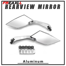 For SUZUKI RM85 RM125 RM250 RMZ250 RMX450Z RMX250S DRZ400S CRZ400SM 250SB DR250R Motorcycle Accessories Rear View Side Mirrors