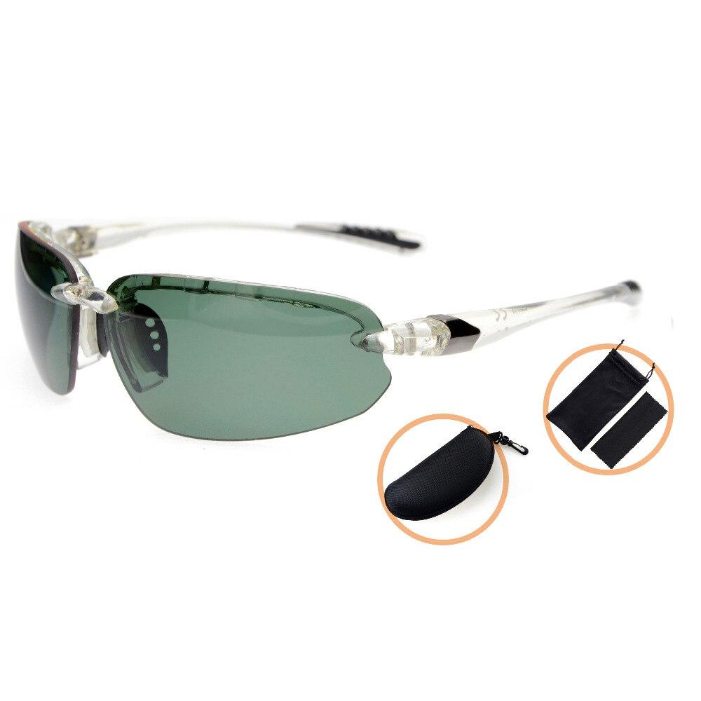 TH6154 lunettes de soleil Sport polarisées en Polycarbonate pour hommes femmes demi sans monture TR90 incassable