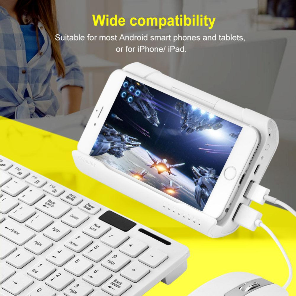 Keyboard and Mouse USB Converter Portable Gamepad Battle Dock for PUBG Mobile Games