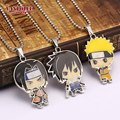 Hot Anime Cartoon Naruto Necklace Sasuke Uchiha Itachi Figure Shape Necklace Cosplay Statement High Quality Necklaces & Pendants