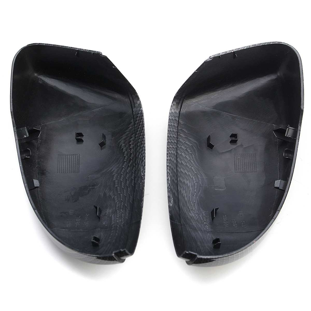 LETAOSK 1 pair ABS Rear View Wing Mirror Covers Caps fit for VW Beetle CC Passat Scirocco EOS # 3C8857537