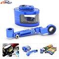 Motorcycle CNC universal Brake Fluid oil Reservoir Cup tank +support bracket for Yamaha yzf r3 r25 r1 r125 r6 r25 BMW S1000RR