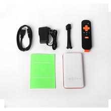 LED DLP Mini Projector 5000mah Battery Pico Pocket Projetor DLP Wifi Portable Handheld Smartphone Proyector Full HD TV projektor