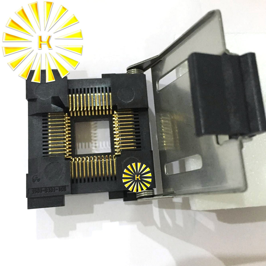 100% Original nouvelle prise de Test LCC 48Pin LCC48 IC/adaptateur de programmeur/prise de rodage IC53-0484-100100% Original nouvelle prise de Test LCC 48Pin LCC48 IC/adaptateur de programmeur/prise de rodage IC53-0484-100