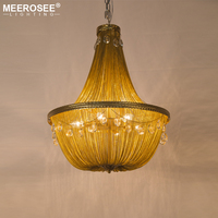 Modern Crystal Chandelier Light Fixture Aluminum Chain Fashion Lustres Lamp Hanging Lighting For Bedroom Foyer