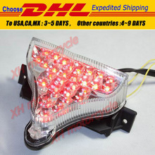 motorcycle partsLED Tail Brake Light Turn Signals for 2009-2010 YZF R1 YZF-R1 Clear