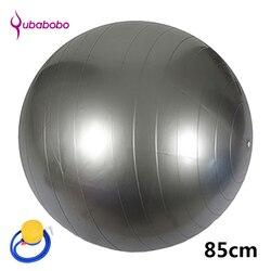 85 CM bolas de Yoga Unisex de PVC para Fitness con 4 bolas de Pilates femeninas de 4 colores bolas de gimnasia pelota de equilibrio de alta calidad + bomba de aire gratis