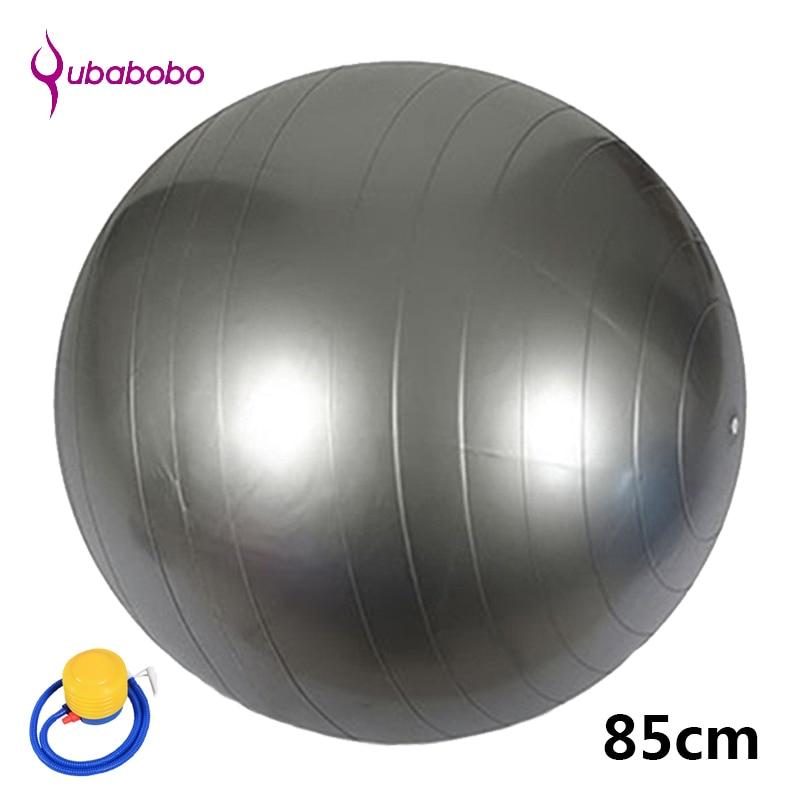 85CM PVC unisex jogas bumbas fitnesa ar 4 krāsu sieviešu pilates bumbām vingrošanas bumbiņas Augstas kvalitātes balansēšanas bumba + bezmaksas sūkņa gaiss