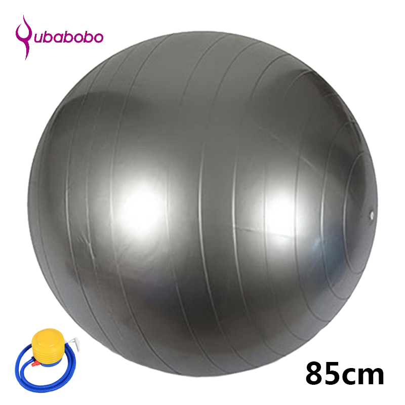 85CM PVC Unisex Yoga Balls for Fitness with 4 color female Pilates Balls gymnastic Balls High quality Balance Ball+Free Pump Air ...