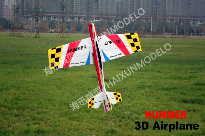 New Arrival RC EPP 3D ARF Airplane HUMMER Wingspan 1000mm Aircraft Model High Quality Good for