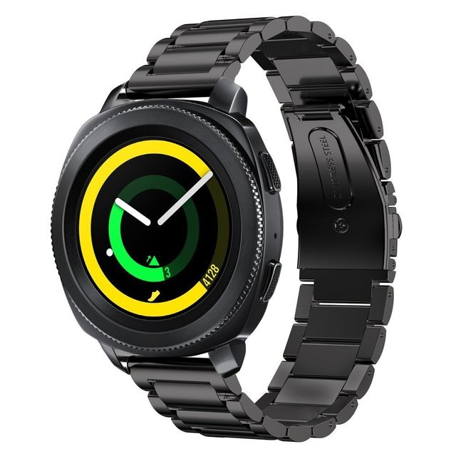 04d16479 for Samsung Gear Sport Band Stainless Steel Metal Band For Samsung Gear  Sport SM-600 Smartwatch