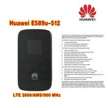 Huawei E589u-512 4G LTE Mobile Pocket WiFi Hotspot plus with 4g external antenna