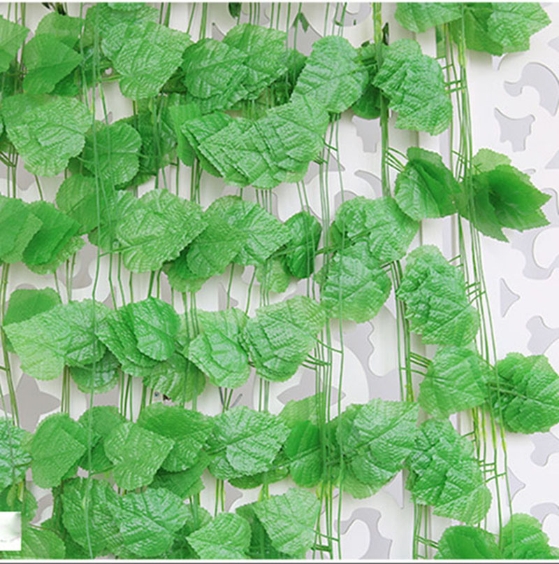 240cm long artificial plants green ivy leaves artificial for Artificial plants for decoration