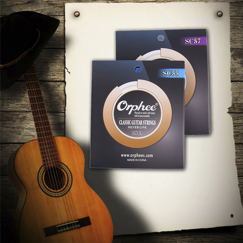 Classic Guitar Strings * 6 Guitar Nylon Strings Unique Anti-rust Coating Technology Vacuum Packaging Appropriate Softness String savarez 510ar nylon classical guitar strings high quality performance level guitar strings