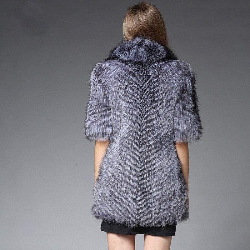Femmes Femme De Raton Et Long Fourure Manteau Mince Laveur Moyen Renard Des Mode Fourrure Gilet S Hiver Nouvelle 6xl Faux En zpqGUSVM