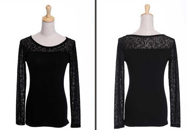 Blusas Feminina футболка, блузка Женская Топ женские кружевные блузки рубашка ropa mujer Vetement Femme Chemise женская одежда плюс размер XXXL