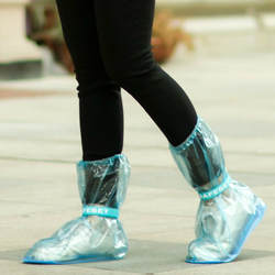 1 пара защищающий от дождя чехол для обуви утолщенные непромокаемые сапоги цикл дождь плоская нескользящая обувь MSD-ING
