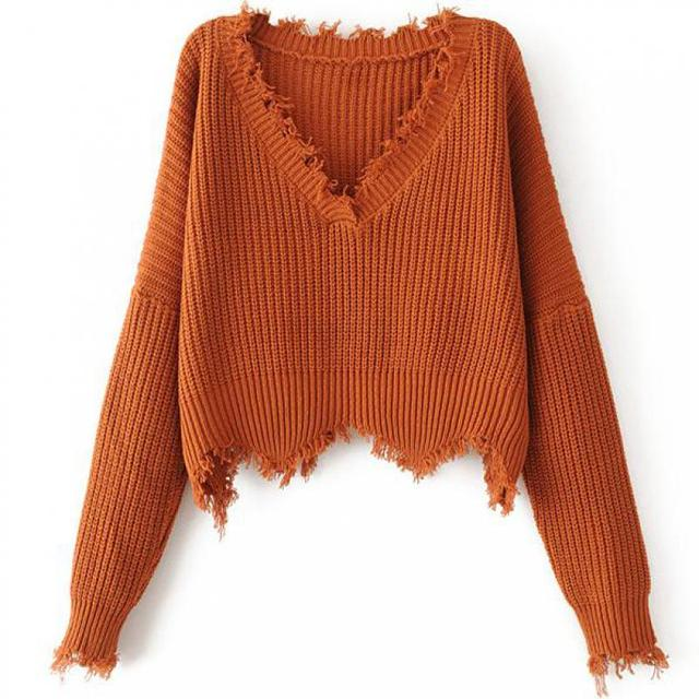 New Lantern Sleeve Sweater