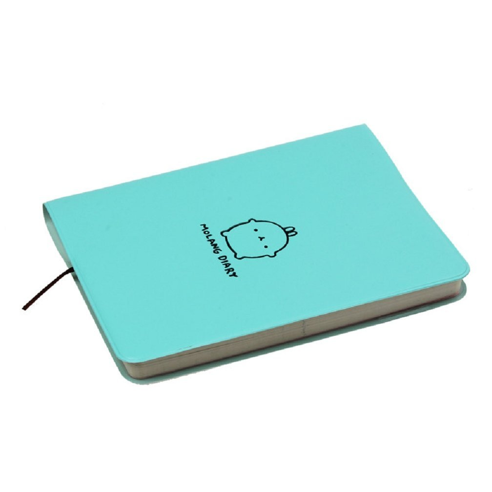 Affordable Cute Rabbit Model Notebook Leather Skin Diary Planbook Blue